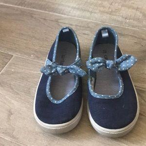 Carters slip on Mary Jane sneakers